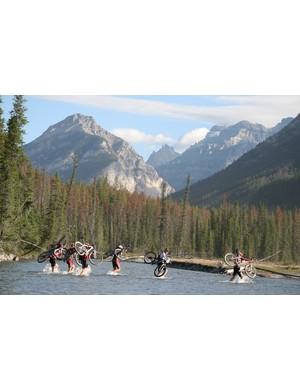River crossings are a TransRockies essential