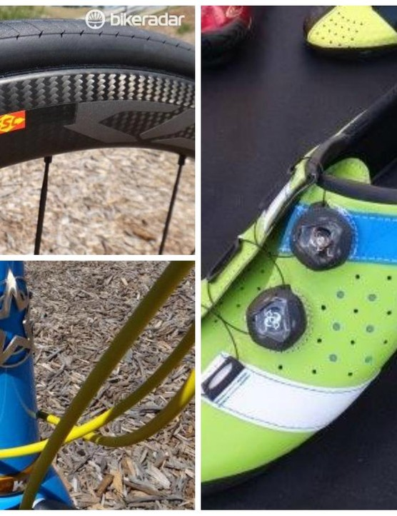 There were plenty of new items to pique the interest of roadies