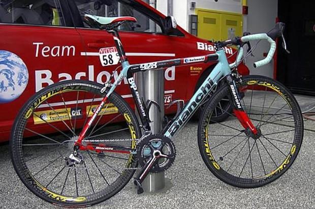 Barloworld riders will continue to ride Bianchi bikes in 2009