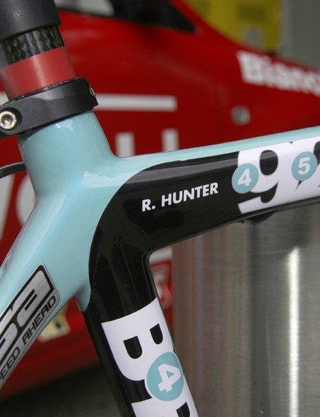 Hunter has yet to win a stage in this year's Tour but we'll be on the watch for him come the Champs-Élysées in Paris.