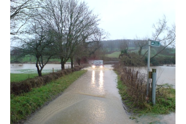 This was the shallow puddle!