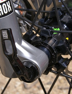 RockShox is going heavier into thru-axles for its mid-travel forks.