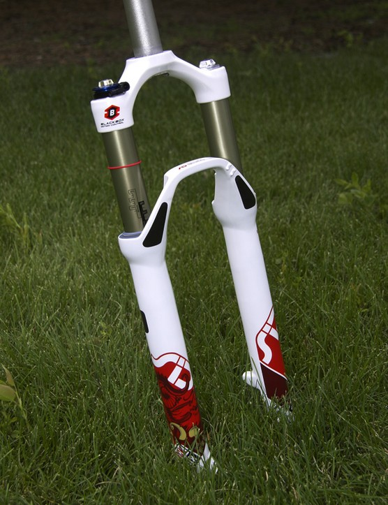 RockShox will outfit its riders with this Olympics-edition SID World Cup.