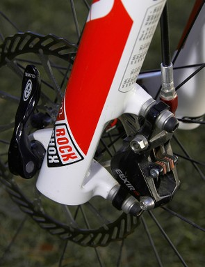 The new lower legs switch from International Standard to 74mm post mounts for easier brake installations