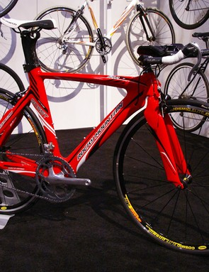 New for '09 is the Solo 90 SST time trial/triathlon bike.