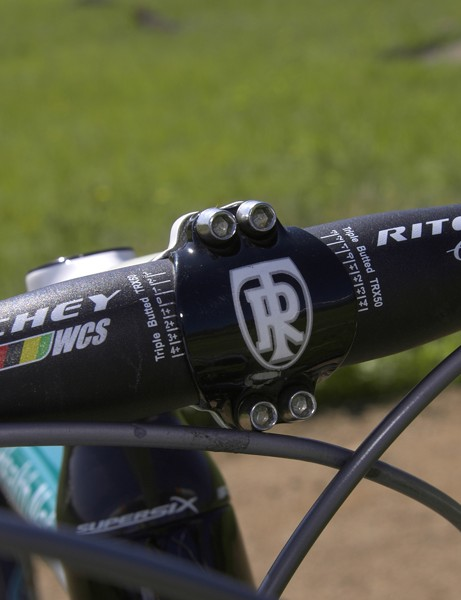 Ritchey provides the team with bars, stems and seatposts.