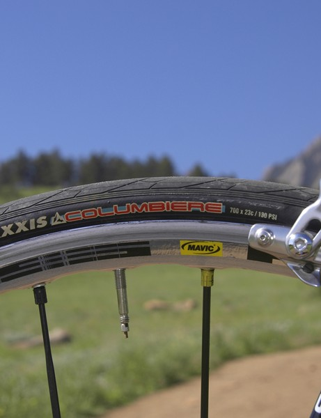 Team sponsor Maxxis supplies Sutherland with its excellent range of clinchers