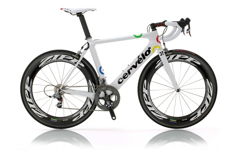 Cervélo introduced a new S3 model at the Olympics