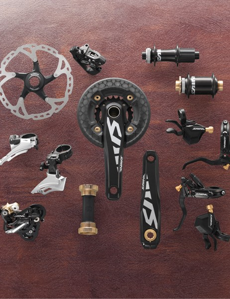 Shimano's newest Saint group offers lighter weight and more stiffness.
