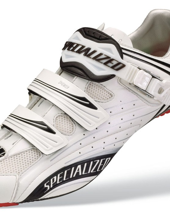The Pro Road shoes are lighter and lower for 2009