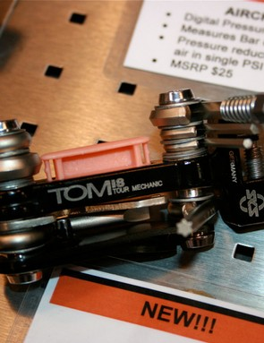 The SKS Tom18 multi-tool even has a spare chain pin drawer.