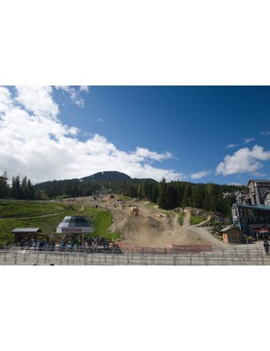 Whistler's mountain bike park is an international destination and it doesn't take long to realize why.