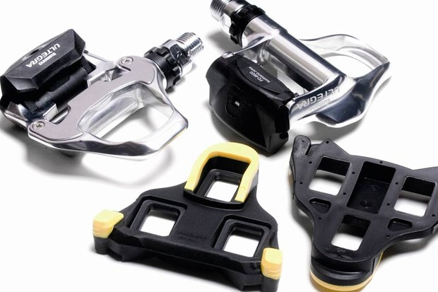 Shimano's SL SPD pedals have plenty of float