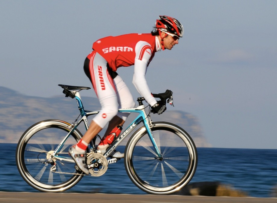 If Lance Armstrong joins Team Astana in 2009, SRAM will be very happy.