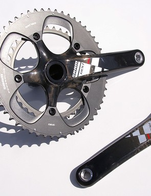 The Red crankset will now be available in a BB30-compatible version.