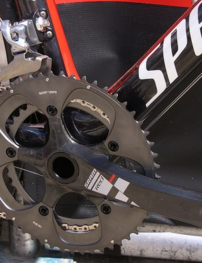 Specialized doesn't actively say  that its integrated crank frames use BB30, but here's the evidence