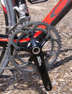All Rival cranks will now be hollow-forged. The 2-D forged solid-armed version will disappear.