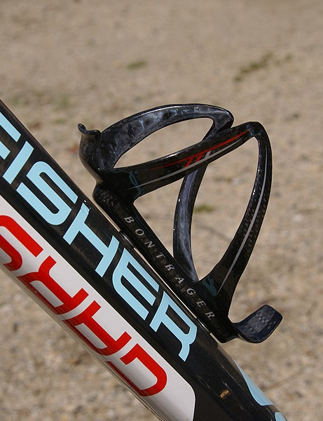 More carbon fibre is found in the Bontrager bottle cage.