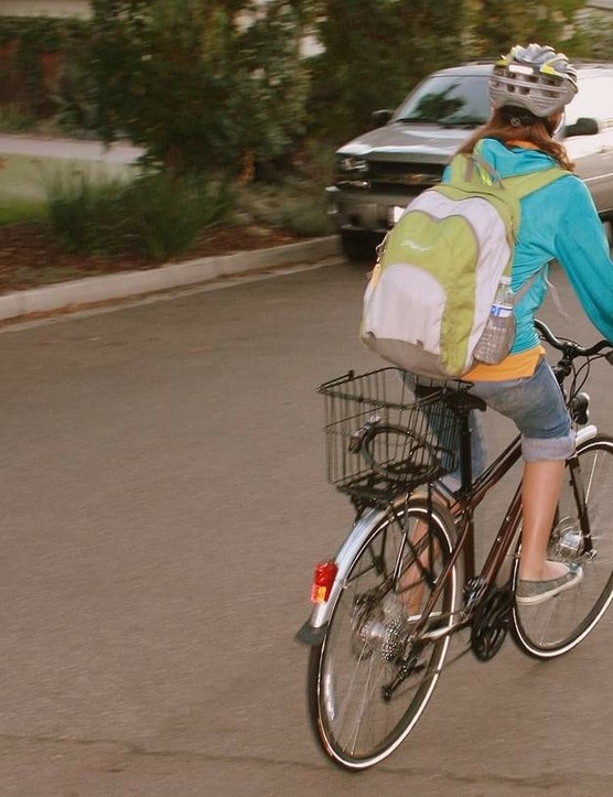 Proper equipment is just as important to kids riding to school as for adults commuting to the office.