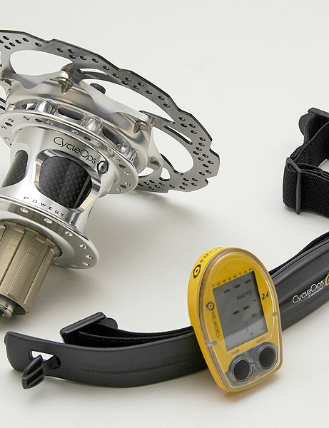 Mountain bikers can now use PowerTap with the addition of the PowerTap SL 2.4 disc brake hub