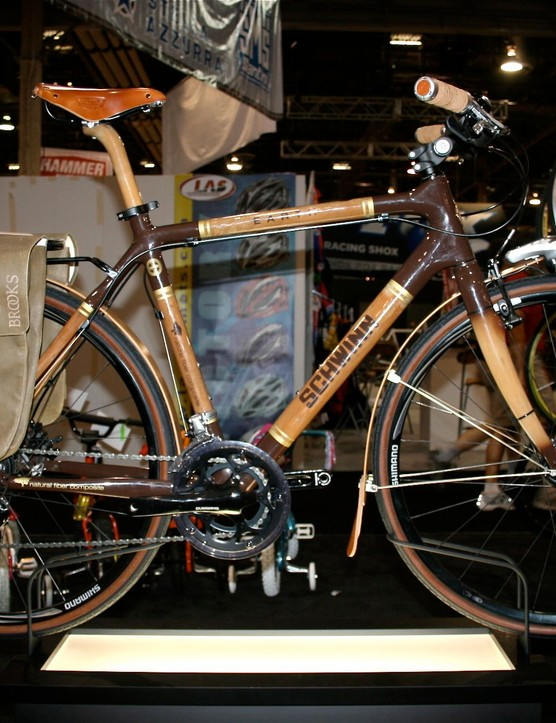 The Schwinn Earth urban commuter, naturally.