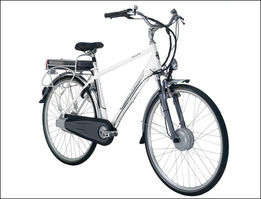 The 2009 Schwinn Tailwind electric bike.