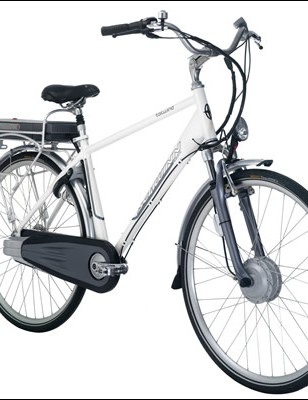 The 2009 Schwinn Tailwind electric bike.