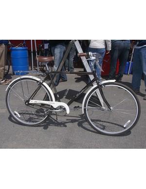 The Schwinn Coffee townie bike also has a women's-specific mate called the Cream.