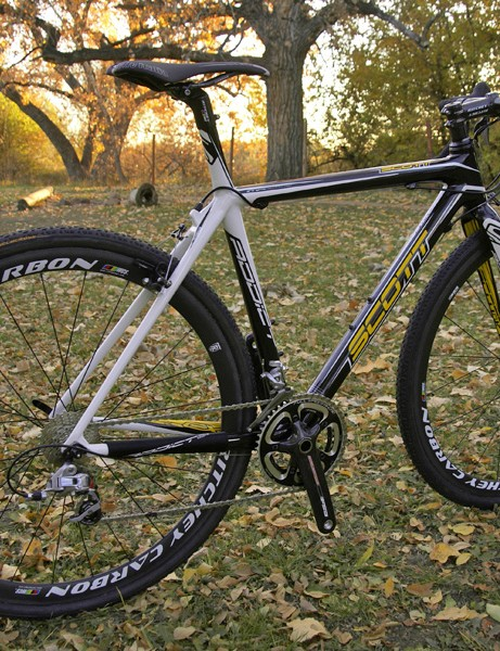 The Scott Addict CX RC is hands-down the trickest 'cross bike we've tested
