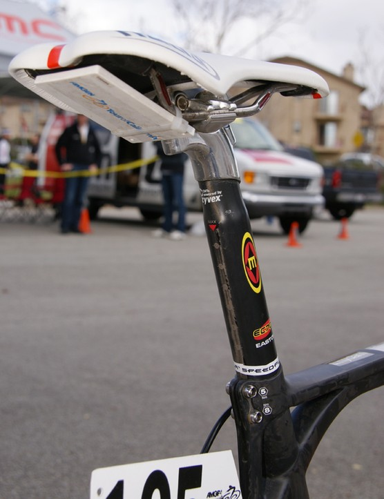Each bike at the Tour of California was fitted with a GPS sensor for real-time tracking.