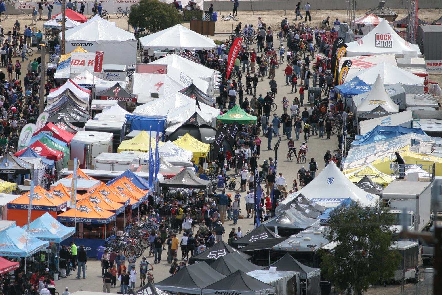 The Sea Otter Classic is a massive expo and ride fest in April.
