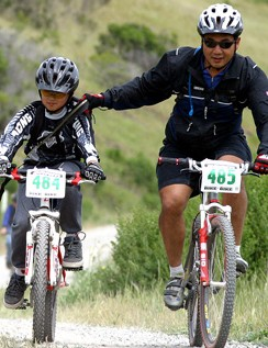 Sea Otter offers a perfect venue for kids to try out the trails.