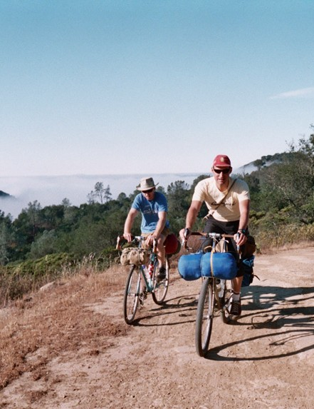 Bike camping made easy on Mt Diablo.