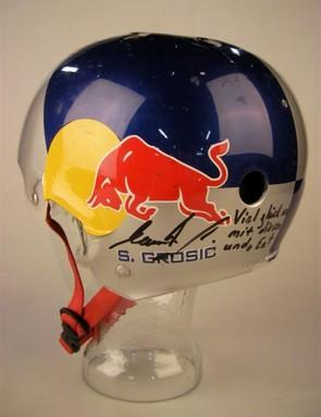 Senad Grosnic's Red Bull helmet