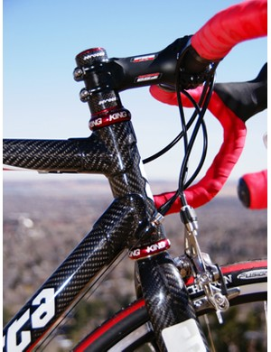 Tube-and-lug carbon construction is alive and well and few do it better than Serotta.