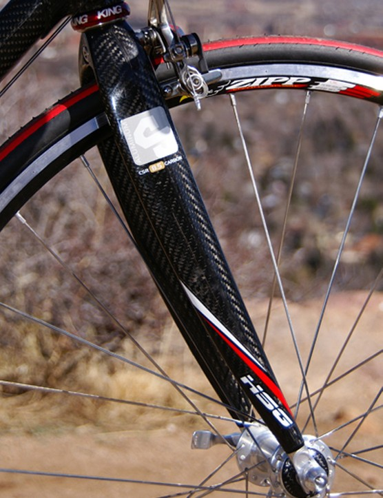 The carbon fork is available in a number of different tunes to suit the particular application.