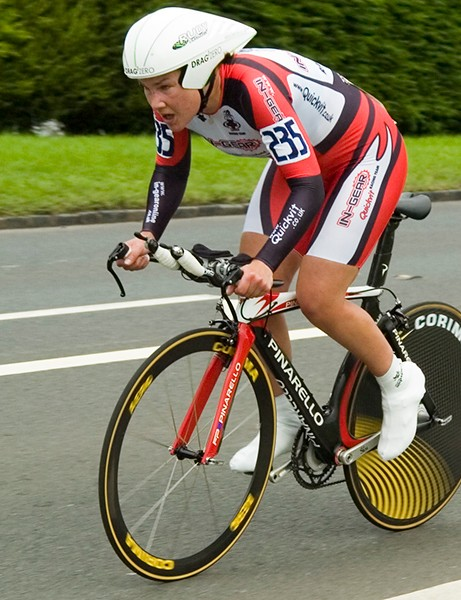 Julia Shaw was the runner-up in the elite women's category