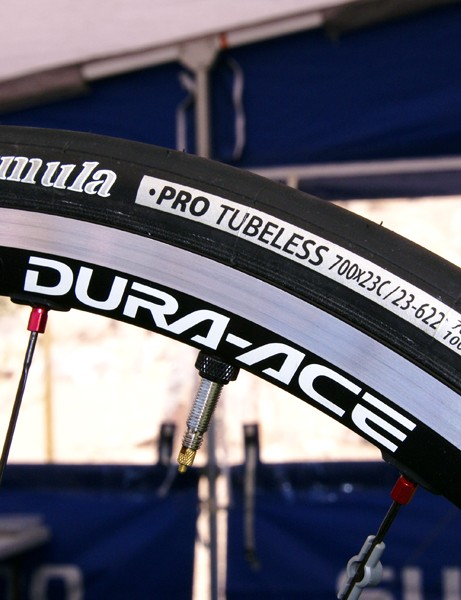 IRC has jumped on board this year to provide two Road Tubeless models.
