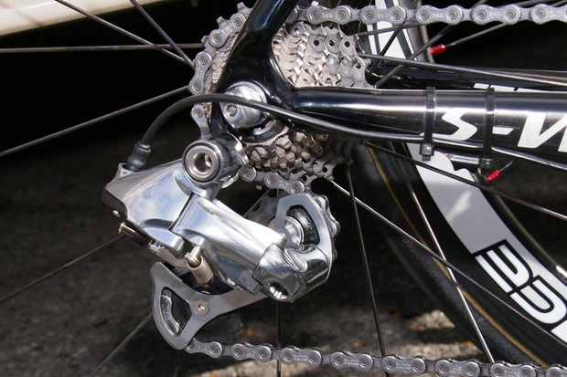 The electronic version promises much faster shiftingthan even the mechanical Dura-Ace version.