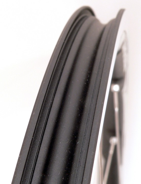 The system requires a uniquely shaped rim bed.  So far only Shimano offers compatible wheels.