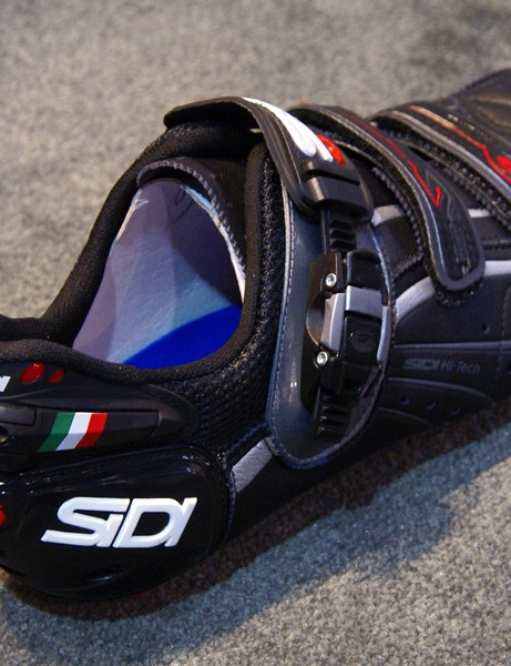 The Genius 6.6 Mega also includes Sidi's new Heel Security System.