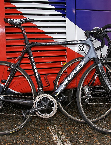 Silence-Lotto riders used road-'cross hybrid frames for their attack on Paris-Roubaix.