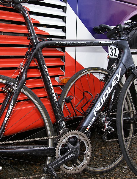The Silence-Lotto bikes were based around a Ridley X-Fire 'cross frame.