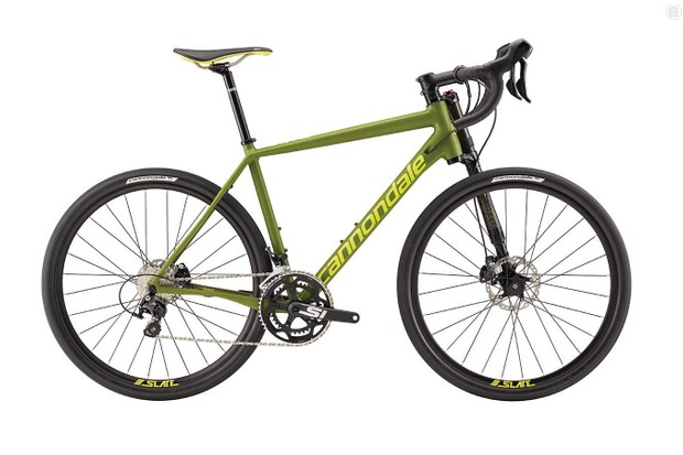 Cannondale's 2016 Slate comes with wheels not intended for tubeless use. Converting them to tubeless poses a risk to the rider