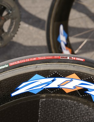 The prologue was reasonably technical but riders were still using 21mm tires in search of more speed
