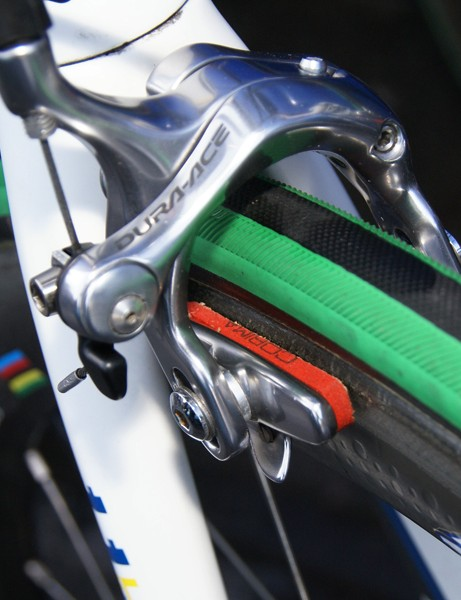 Corima carbon-specific pads  continue to be a popular choice.