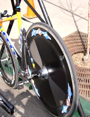 Zipp will offer its new PowerTap-equipped rear disc in both its new Sub9 shape…