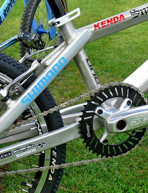 Snap chainring
