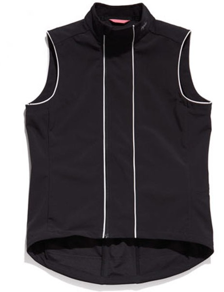 The soft shell gilet is designed for improved mobility.