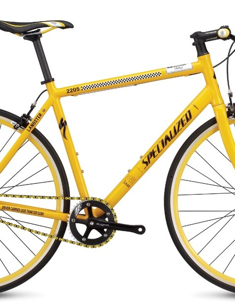 The 2009 Specialized Langster New York model, one of five city-themed versions.